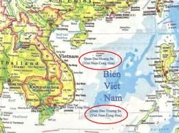 Bản đồ Việt Nam do Nha Địa Dư chính phủ Việt Nam Cộng Hòa ấn hành 1956-1975