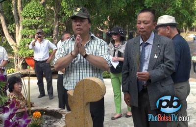 Thứ trưởng Ngoại Giao Việt Nam Nguyễn Thanh Sơn, chủ nhiệm UBNNVNVNONN đã đưa đoàn khách Việt kiều, đa số là từ Hoa Kỳ, tới tỉnh Bình Dương, đến viếng thăm nghĩa trang liệt sĩ Bình Dương và nghĩa trang Bình An, tức nghĩa trang quân đội Biên Hoà thời VNCH