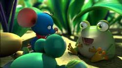 """Phim hoạt hình 3D mang tên """"Dưới bóng cây"""". Hình chụp từ youtube"""