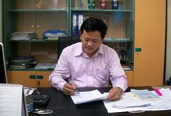 LS Trần Đình Triển. RFA File Photo.