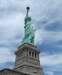 Tượng Nữ Thần Tự Do ở New York, Hoa Kỳ. Photo courtesy of chudu24.com
