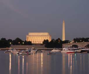 Thủ đô Washinhton DC, Hoa Kỳ hôm 4/7/2010.