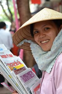 Ở VN không có tờ báo nào nào là của tư nhân. RFA photo