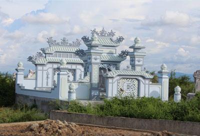 Một lăng mộ ở Huế. RFA photo