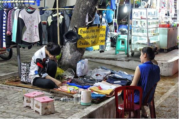 Chợ đệm Cà Mau