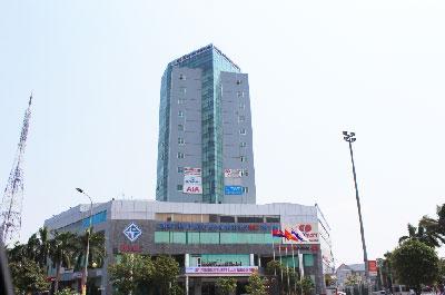 Trung tâm thành phố Hà Tĩnh. RFA