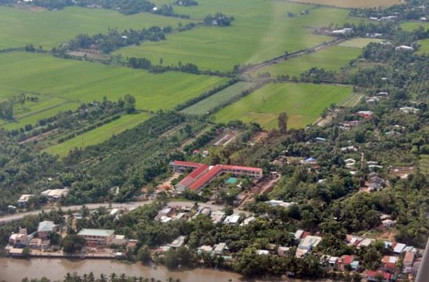 Đất ruộng ở Tây Nam Bộ