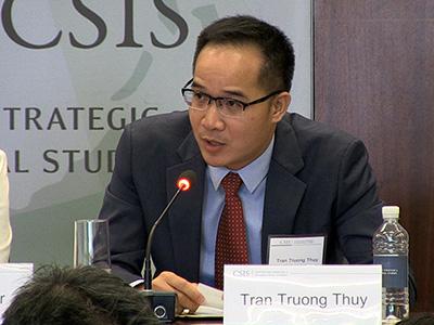 Tiến sĩ Trần Trường Thủy.