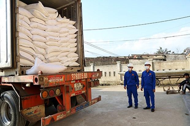 Việt Nam hỗ trợ gần 12 ngàn tấn gạo cho 7 ngàn dân tại 16 tỉnh trong dịp Tết