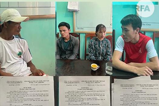 4 người dân ở Thanh Hoá bị xử phạt vì đăng bài chỉ trích lãnh đạo trên Facebook