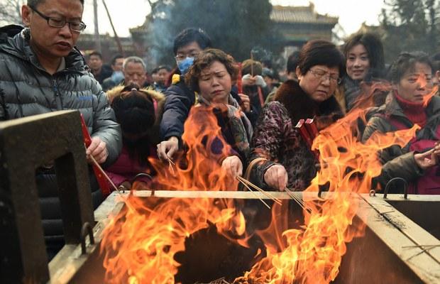 Cháy do đốt vàng mã ngày 23 tháng chạp làm chết bốn người
