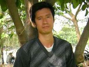 Cựu tù nhân chính trị, anh Ngô Quỳnh, ảnh chụp trước đây.