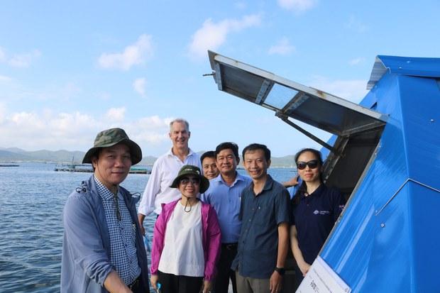 Úc giúp Việt Nam xử lý nước sạch