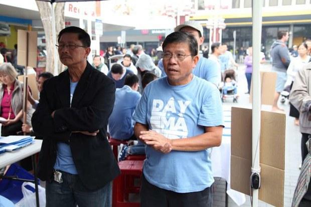 Tù chính trị Châu Văn Khảm bị lao động nặng trong trại giam