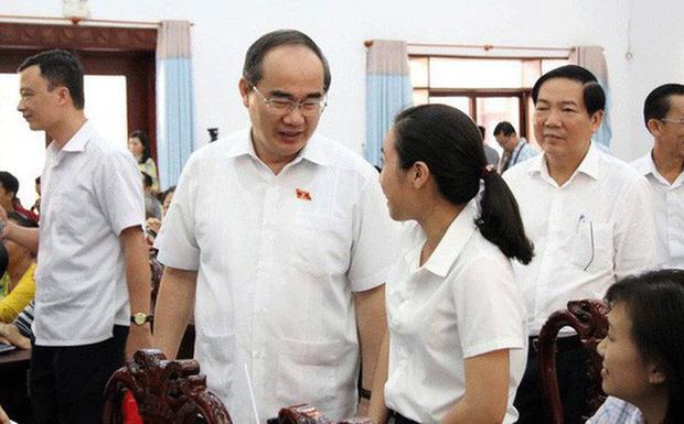 Bí thư Sài Gòn Nguyễn Thiện Nhân đã gặp người dân Thủ Thiêm như đã hứa