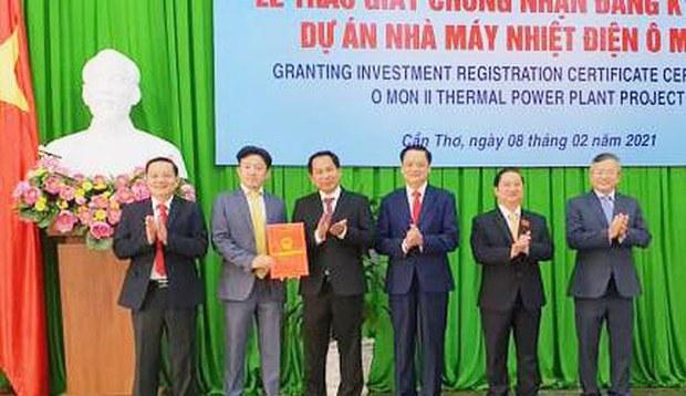 Tỉnh Cần Thơ cho phép đầu tư dự án nhiệt điện 1,3 tỷ USD