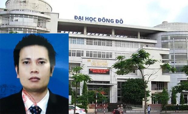 Ông Trần Khắc Hùng, Chủ tịch Hội Đồng Quản Trị ĐH Đông Đô, bị truy nã
