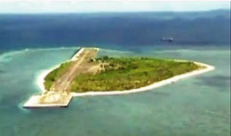 Thủ phủ của khu vực Trung Quốc gọi là thành phố Tam Sa là đảo Phú Lâm thuộc Hoàng Sa của Việt Nam. RFA file