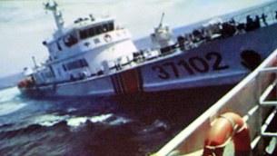 Tàu hải giám TQ đâm thẳng vào tàu Cảnh sát biển Việt Nam