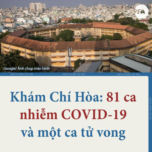 Trại Chí Hòa: Hàng trăm phạm nhân nổi dậy sau khi 81 người nhiễm COVID-19 trong trại