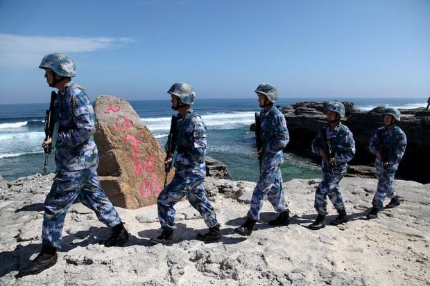 Trung Quốc tập trận đổ bộ chiếm đảo ở quần đảo Hoàng Sa