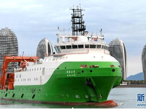 Tàu Thám Tác 2 (Tan Suo 2) của Trung Quốc. Tàu vừa tiến hành chuyến khảo sát vào vùng biển của Việt Nam