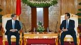 Thủ tướng Nguyễn Tấn Dũng tiếp Chủ tịch Chính Hiệp Trung ương Trung Quốc, Du Chí Thanh