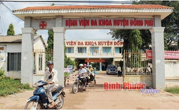 Giám đốc Trung tâm Y tế huyện Đồng Phú, Bình Phước bị cách chức vụ trong Đảng