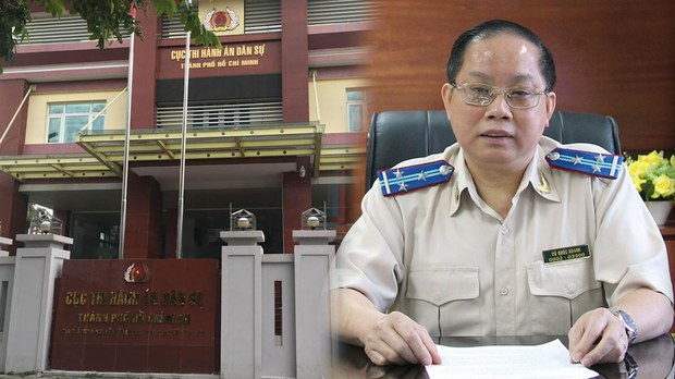 Cục trưởng Cục Thi hành án Dân sự thành phố Hồ Chí Minh bị giáng chức
