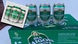 Mẫu mã của bia Sài Gòn Việt Nam nhìn rất giống thương hiệu bia Sài Gòn của SABECO