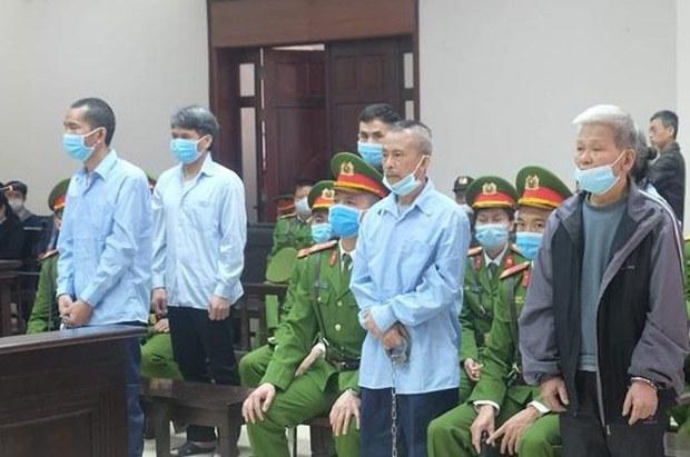 Phúc thẩm Đồng Tâm: Ông Lê Đình Công thay đổi kháng án tại tòa, nói bản thân vô tội
