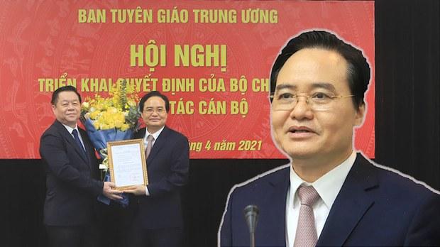 Cựu bộ trưởng giáo dục Phùng Xuân Nhạ làm Phó Trưởng ban Tuyên giáo Trung ương