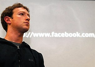 Tỷ phú trẻ Zuckerberg, người sáng lập Facebook