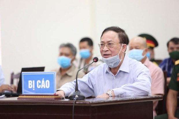 Cựu Đô đốc Nguyễn Văn Hiến kháng cáo xin hưởng án treo