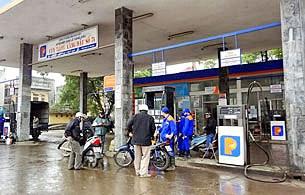 Một trạm bán xăng dầu của Petrolimex ở TPHCM.