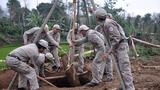 Đội rà phá bom mìn lưu động xử lý thành công quả bom nặng 250kg tại Quảng Trị tháng 03/2016