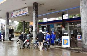 Một trạm bán xăng dầu của Petrolimex.