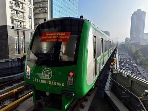 Tuyến đường sắt trên cao Cát Linh-Hà Đông