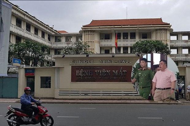Giám đốc, Phó giám đốc Bệnh viện Mắt TPHCM bị bắt tạm giam