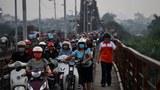 Hà Nội tăng tiến độ hỗ trợ thu đổi xe máy cũ nát vì ô nhiễm trầm trọng