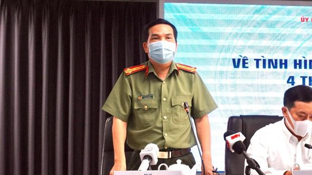 Công an thành phố Hồ Chí Minh thông tin về vụ sập sàn giao dịch Coolcat