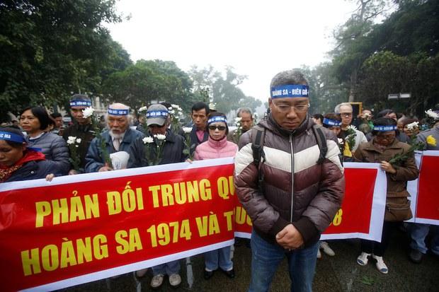 Đại diện Đà Nẵng gặp cựu viên chức làm việc ở Hoàng Sa