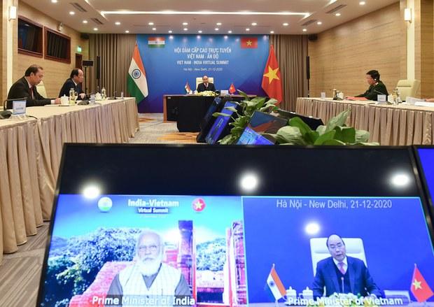 Ấn Độ - Việt Nam tăng cường trao đổi quân sự