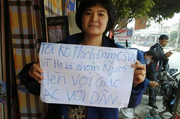 Nhà hoạt động Trần Thị Nga