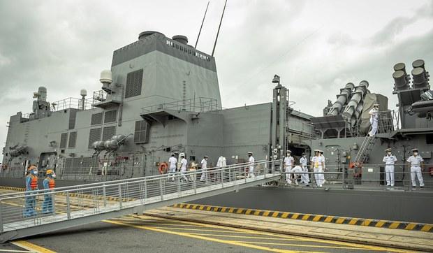 Khu trục hạm Nhật Bản thăm Việt Nam