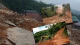 Do mưa lớn nhiều ngày đã khiến sạt lở nghiêm trọng xảy ra tại các huyện miền núi Quảng Ngãi, cô lập hàng trăm hộ dân