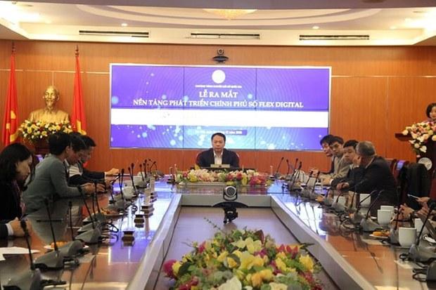 Ra mắt nền tảng Chính phủ số được xây dựng bởi Việt Nam