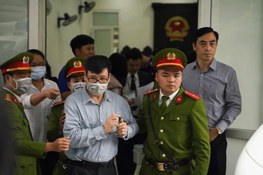 Blogger Trương Duy Nhất ra tòa tại Hà Nội hôm 9/3/2020