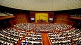 Một kỳ họp của Quốc hội Việt Nam ở Hà Nội, ảnh minh họa chụp trước đây.