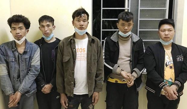 Biên phòng Long An bắt 5 người Trung Quốc nhập cảnh trái phép vào Việt Nam để sang Campuchia